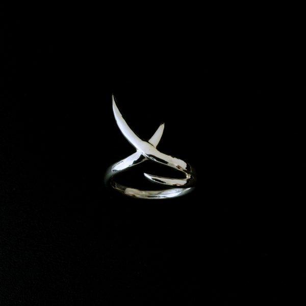 Women's Designer Silver Stingray Ring